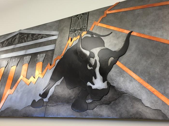 Wall Street Corporate Art