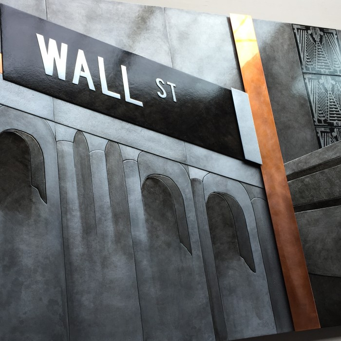 Wall Street Corporate Art