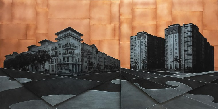 St Pete, 36x72 inches, commission for NRP group