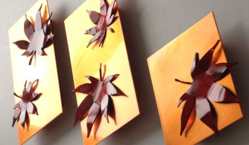 Japanese Maple Leaves set