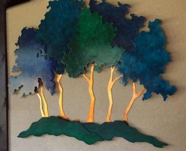 Five Trees, panel 3 of 5 for Southwest General Hospital