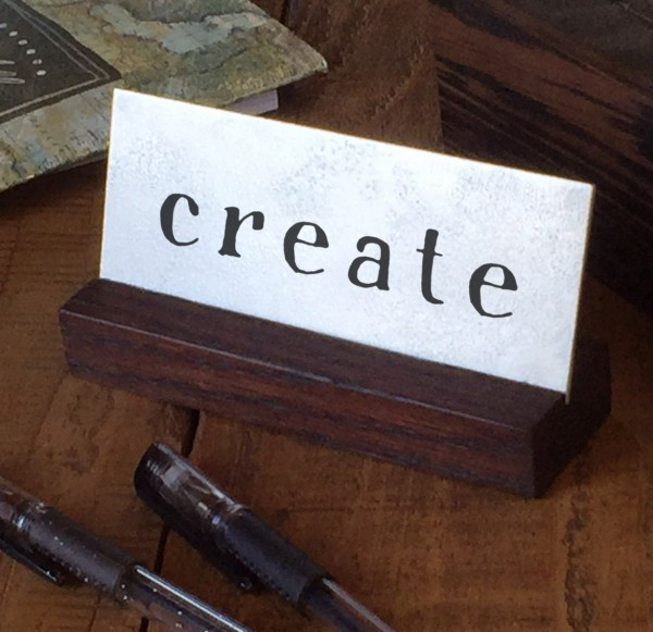Create desk art