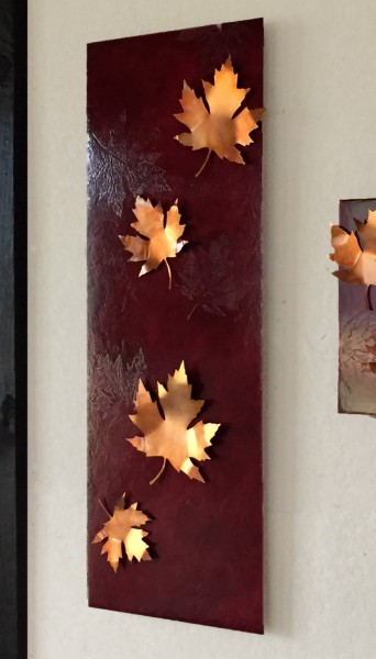 Large Copper Maple Leaf