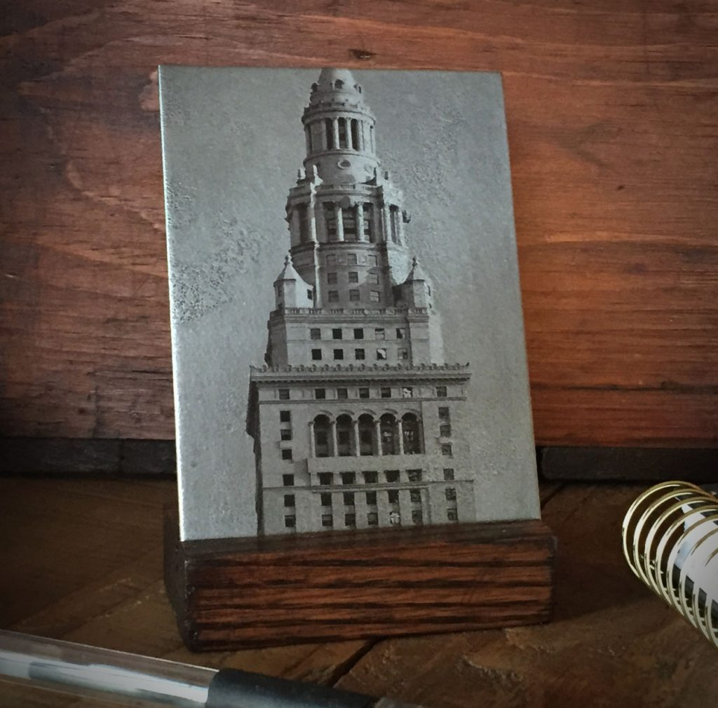 Terminal Tower Desk Art
